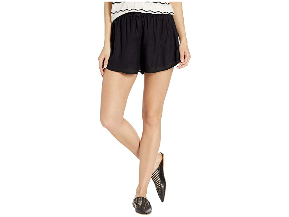 Amuse Society Playa Paraiso (Black) Women's Shorts