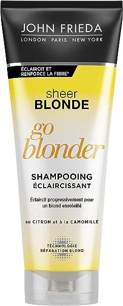 JOHN FRIEDA Sheer Blonde Blonder Shampooing Eclaircissant 250