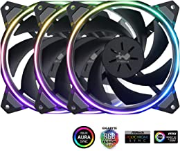 InWin Sirius Loop Addressable RGB Triple Fan Kit 120mm High Performance Cooling Computer Case Fan Cooling