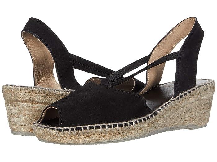 Andre Assous  Dainty (Black Suede) Womens Sandals