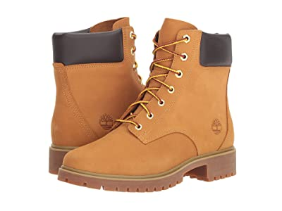 Timberland Jayne 6 Waterproof Boot (Wheat Nubuck) Women