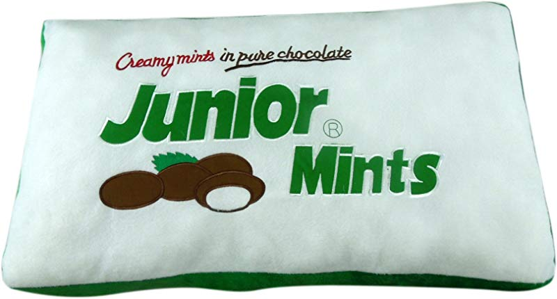 Tootsie Roll Soft Plush Pillow 30 Junior Mints