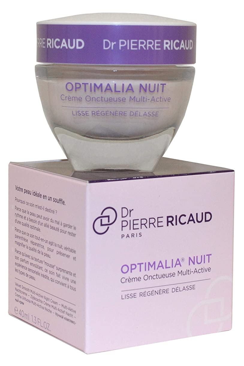 弾薬ブロック下向きドクター ピエール リコー Optimalia Nuit Velvet Smooth Multi-Active Night Cream 40ml/1.3oz並行輸入品
