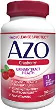 AZO Cranberry Urinary Tract Health Dietary Supplement | 1 Serving = 1 Glass of Cranberry Juice| Helps Cleanse + Protect the Urinary Tract | Sugar Free | Fast Acting | 100 Softgels
