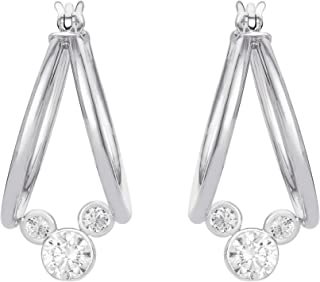 fe5bc5f342224 Amazon.com: Mickey Mouse - Earrings / Jewelry: Clothing, Shoes & Jewelry