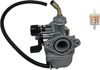 SHUmandala PZ19 Carburetor Hand Choke 19mm With Fuel Filter for 50cc 70cc 80cc 90cc 110cc 125cc Honda CRF Panterra Baja Kandi Motovox Sunl Redcat SSR Kazuma Meerkat Trailsport Taotao Dirt Bike ATV