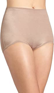 Women's Plus-Size Control Panty Brief - Brown - 4X-Large