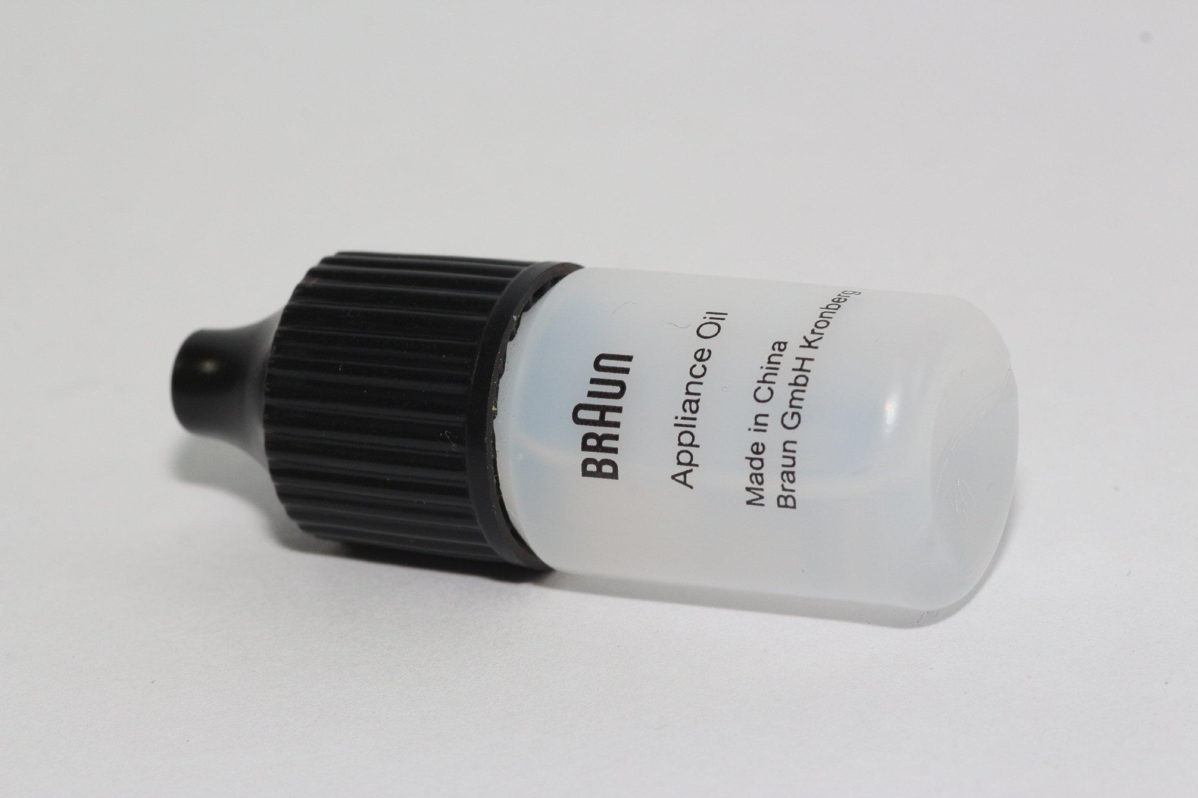 Aceite lubricante Braun para afeitadora, botella de 5 ml para ...