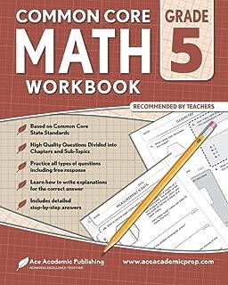 5th grade Math Workbook: CommonCore Math Workbook