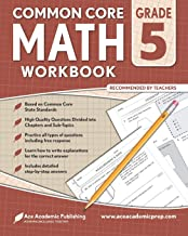 5th grade Math Workbook: CommonCore Math Workbook