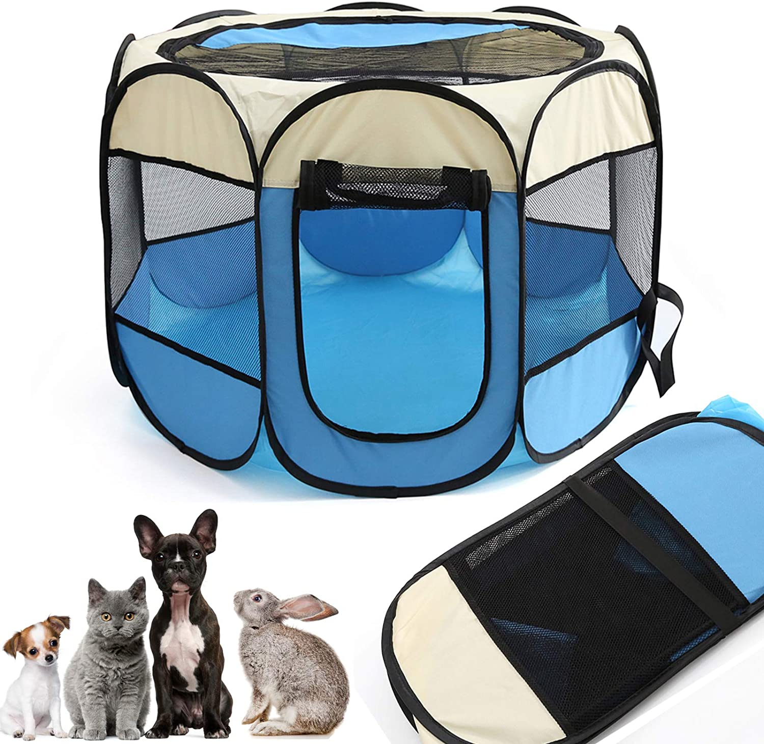 Portable Foldable Pet Manufacturer Dealing full price reduction regenerated product Playpen playpen cats 60 for Premium dogs