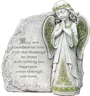 Roman Joseph Studio Irish Angel Praying Outdoor Garden Stone Decoration 64378 New