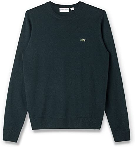 Lacoste Wool Crew Neck Pull Homme