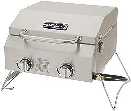 Nexgrill Industries Inc. 820-0033 2-Burner Portable Propane Gas Table Top Grill