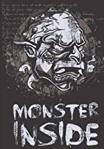 Monster Inside: Halloween Gift For Adults - Halloween Notebook - scary gits to offer - Lined Halloween Notebook - Cheaper ...