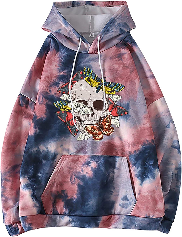 Sweatshirts for Women Casual Fashion Casual Long Sleeve Sweatshirts With Hood Printing Tops for Ladies