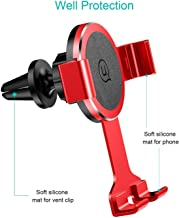 Cell Phone Holder for Car, Single Star Cell Phone Holder, 360 Rotate Car Air Vent Phone Cradle Mount,