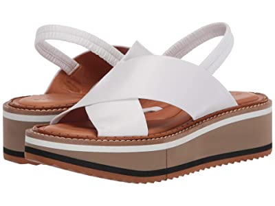 Clergerie Freedom 3 (White Nappa) Women