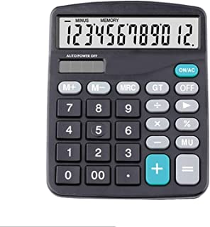 ZLDAN 12 Digit Large Screen Calculator Financial Accounting Clear inventory Office Home Stationery
