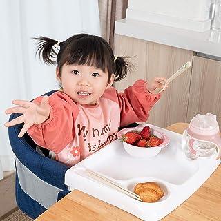 テーブルチェア ベビーチェア 折りたたみ ベビーテーブルチェア 赤ちゃんハイチェア 幼児用 お食事チェア 子供 お食事椅子 専用トレー付 収納袋付 5ヶ月から3歳まで 日本語取扱説明書 QUEEN ROSE ブルー