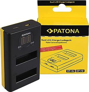 PATONA Dual LCD Lader voor SPCC1B Batterij compatibel met GoPro Max