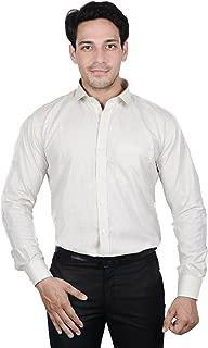 The Mods cotton lenan white Shirt