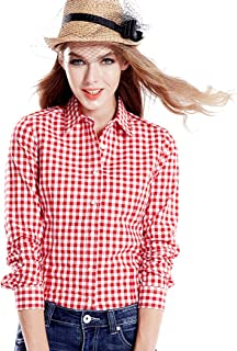 Best red and white gingham shirt ladies Reviews