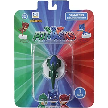 Pj Masks Stampers 1 PC Blister 1 (S1) - Gekko Mobile for Kids 3+ Years & Above