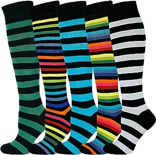 Best zebra striped socks Reviews