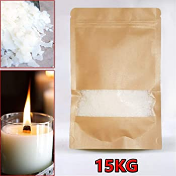 Top Selling Wax! 1Kg Soy Pure /& Clean Burning Nature Wax Soya Wax Flakes