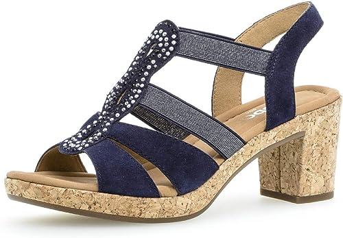 Gabor 22.774 Femme,Chaussures d'été,Chaussures à Talon Ouvert,Talon Haut,féminin Haut,féminin  différentes tailles