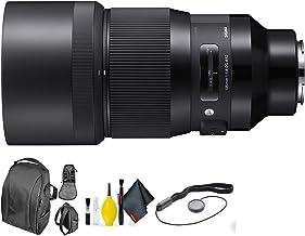 Sigma 135mm f/1.8 DG HSM Art Lens for Sony E + Deluxe Lens Cleaning Kit