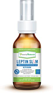 PbyN - Leptin Slim - Dr Formulated Liquid Weight Management Made with DygloFit - Clinically Tested for Satiety Support Hunger Control Spray - All Natural Appetite Suppressant, Vegan, NonGMO, NoSoy 1oz