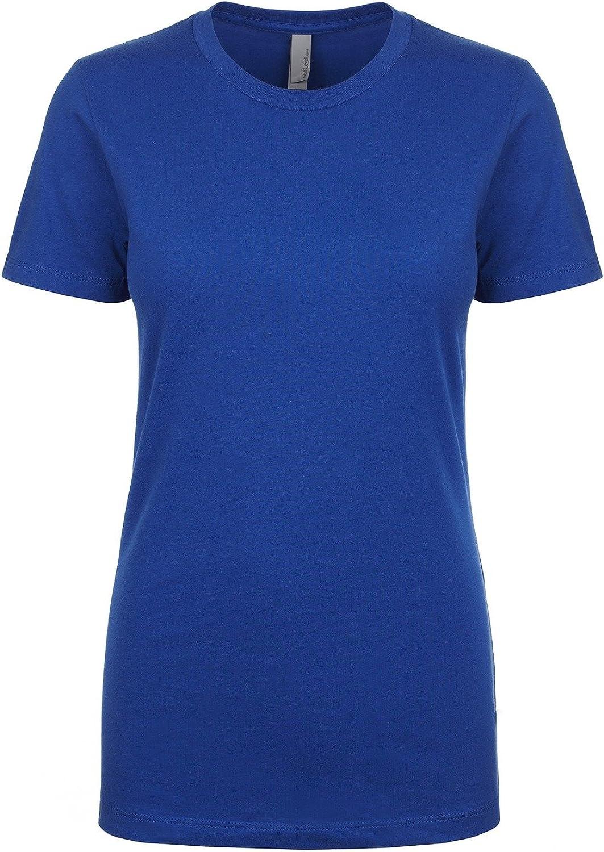 Next Level NL1510 Women's Ideal Crew Short Sleeve T-Shirt Royal M