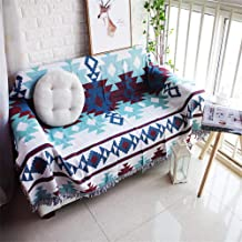 Throw Blanket Exotic Cotton Thread Towel Blanket with Tassel Bed Blankets Geometric Sofa Cover Slipcover Home Decor
