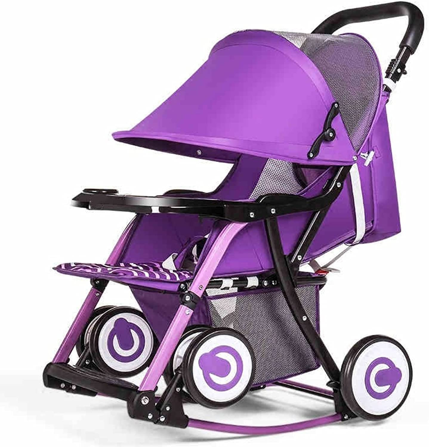 HAIZHEN Intellectual Toy Pushchair Baby Stroll Can Sit Reclining Collapsible for 1 Month-3 Years Old Firstborn Neonatal Boy and Girl Gifts