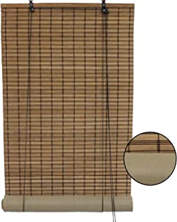 woven wood blinds with privacy liner