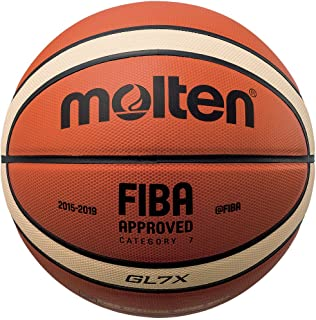 Molten X-Series Leather Basketball, FIBA Approved - BGLX
