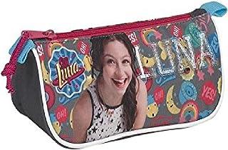 Soy Luna Estuche portatodo Triangular (SAFTA 811726224), Color Gris, 20 cm: Amazon.es: Juguetes y juegos