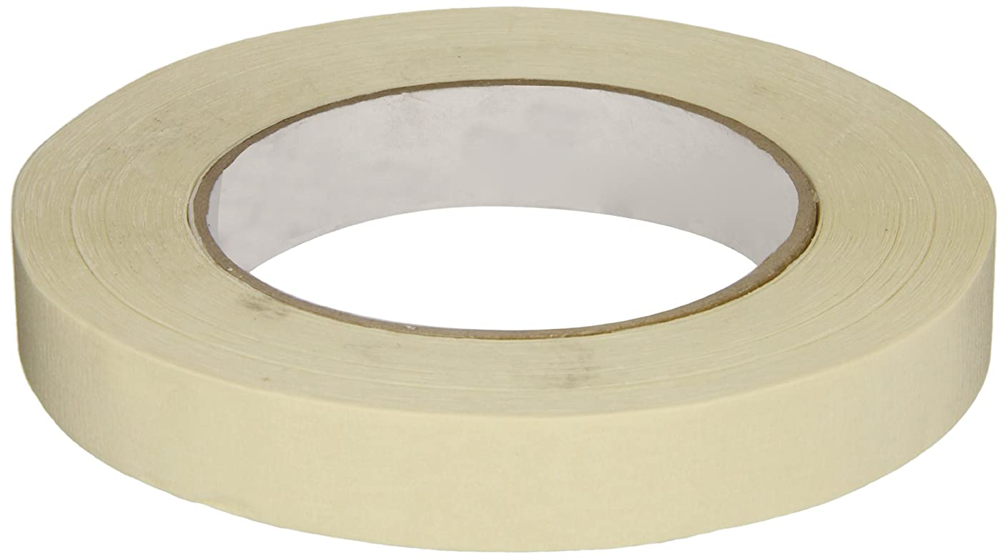 IPG 515 Utility Grade Masking Tape, 18mm x 54.8m, Tan, (48-Pack)