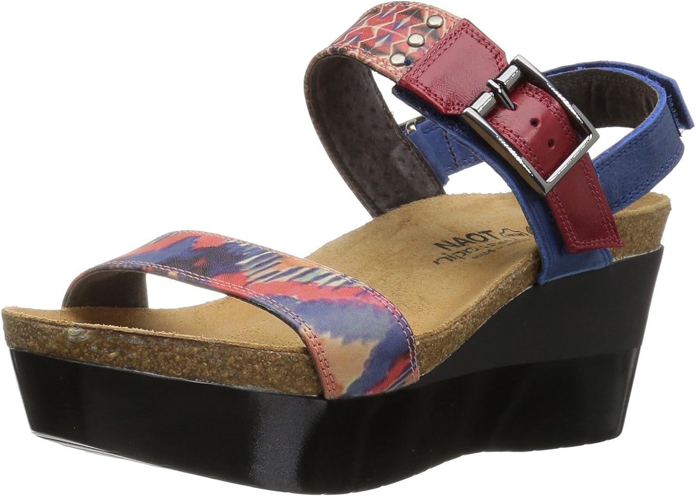 Naot Women's Alpha Print Wedge Sandal