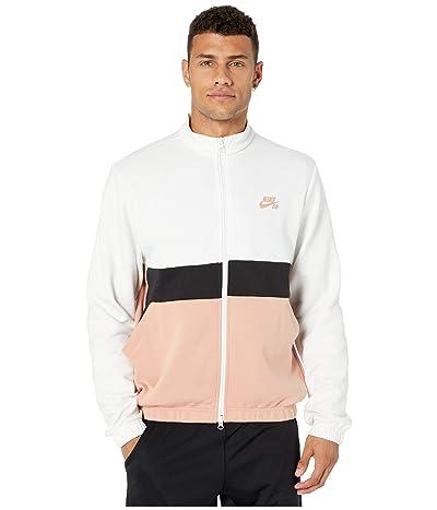 Nike SB Dri-Fit Track Jacket (Summit White/Rose Gold/Black/Rose Gold) Men