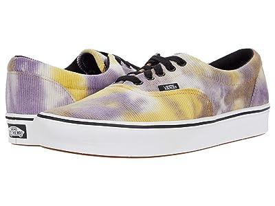 Vans ComfyCush Era ((Blotched) Multi/Purple Velvet) Athletic Shoes