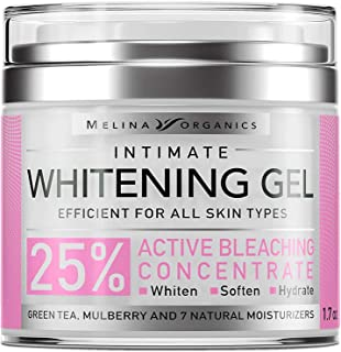 Bleaching Cream for Intimate Areas – Made in USA – Potent Whitening Cream..