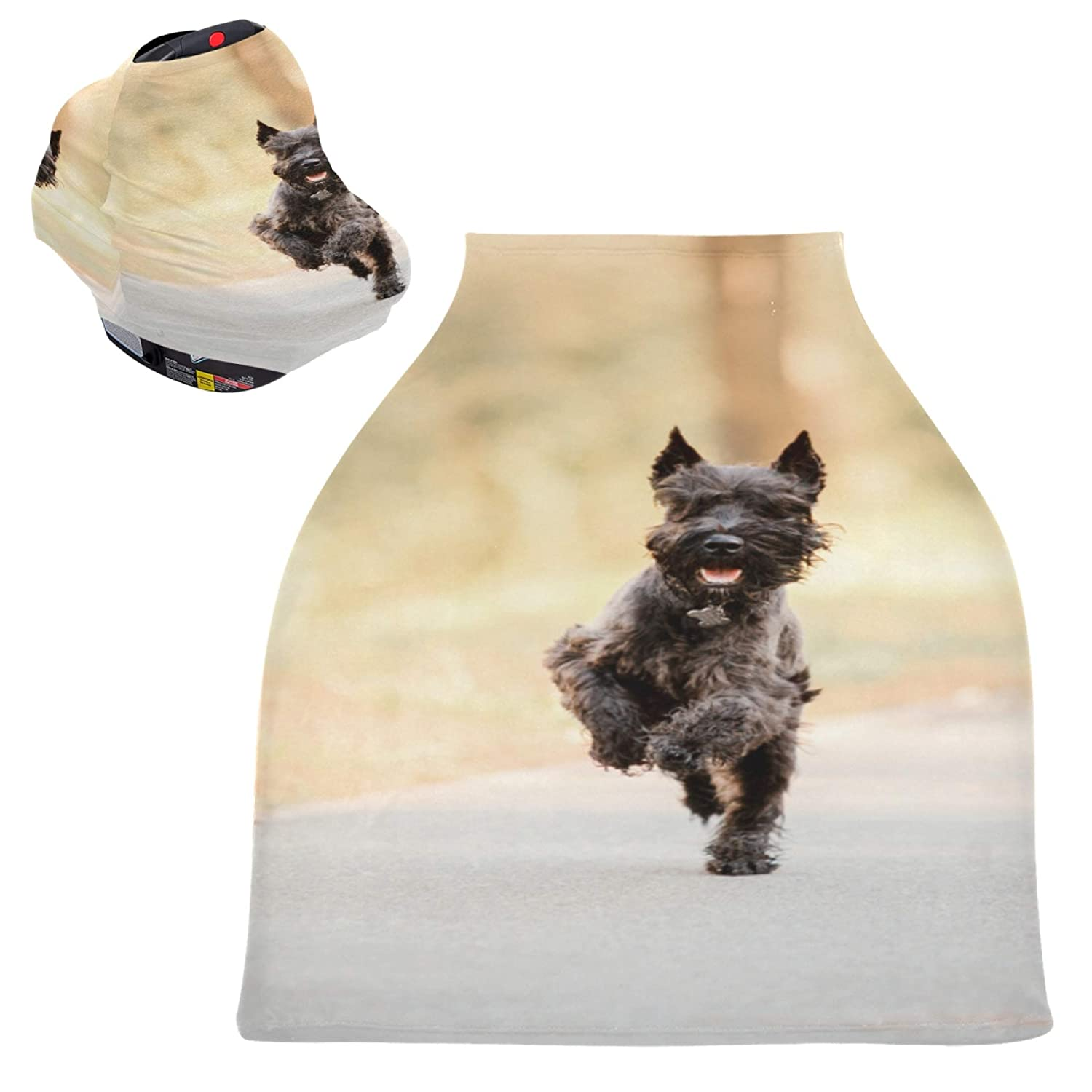 Stretchy Nursing Cover Recommendation Ugly Black Dog Puppy Baby Jumping Shoppin Max 76% OFF