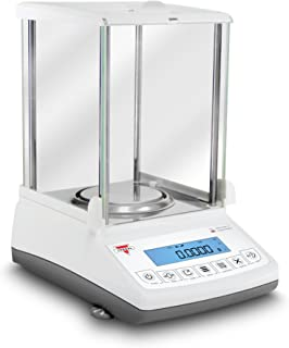 Torbal ATN60A 0.1 mg Auto-Internal Calibration Ultra Compact Design Electromagnetic Load-Cell USB Analytical Balance, 60 g x 0.0001 g, White