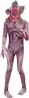 Kids Adult Demogorgon Costume Bodysuit Season 3 Halloween Cosplay Zentai Jumpsuit with Mask