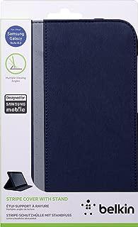Belkin PU Leather Cinema Stripe Multi Angle Folio Cover Case for 8 inch Samsung Note - Ink Blue