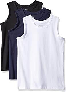 Amazon Essentials Boys' 3-Pack Tank Bebé-Niños