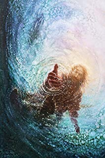 HavenLight Yongsung Kim - The Hand of God Painting - Jesus Reaching Into Water - 16